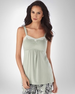 Embraceable Cool Nights Frosty Green Cami