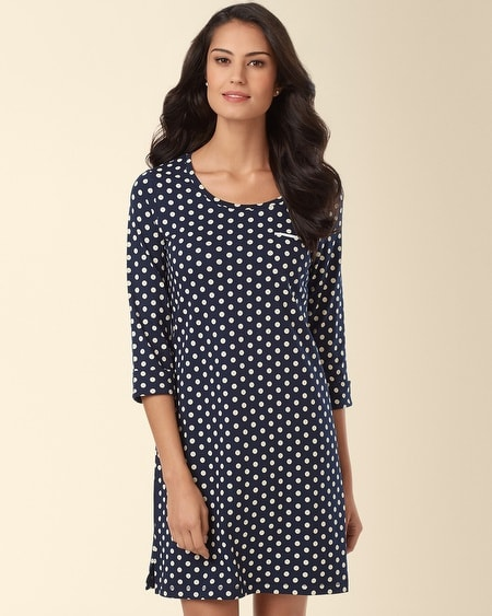 Sleepshirt Big Dot Navybound
