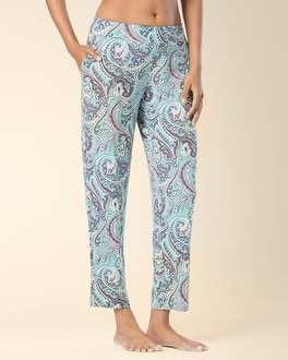 Embraceable Cool Nights Ankle Pajama Pants Ambition Jade Kiss