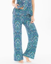 Cool Nights Pajama Pants Saint Tropez Navy