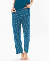 Cool Nights Ankle Pajama Pants Joyous Geo Poseidon
