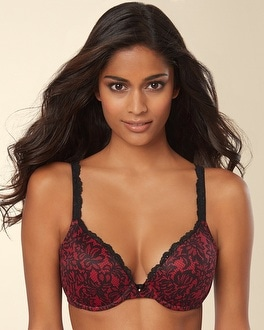 Embraceable Push Up Lace Trim Bra