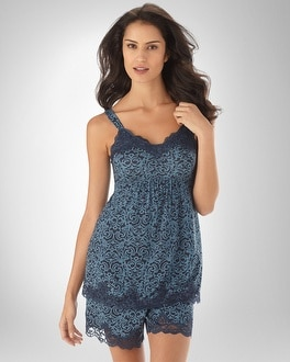 Embraceable Cool Nights Distinguished Navybound PJ Cami