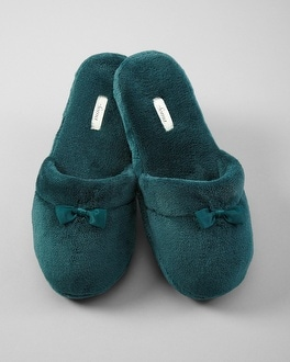 Embraceable Emerald Slippers