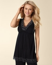 Embraceable Cool Nights Black PJ Tank