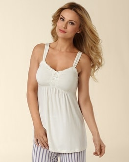 Embraceable Cool Nights Ivory PJ Cami