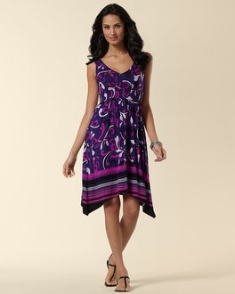 Smocked Vibrancy Empire Dress