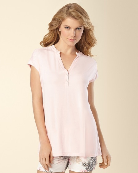 Pajama Pop Over Top Sugar Pink