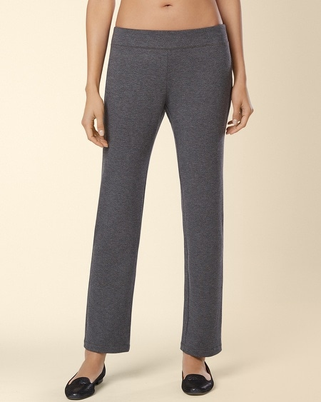 Divine Terry Ankle Pant Heather Quartz