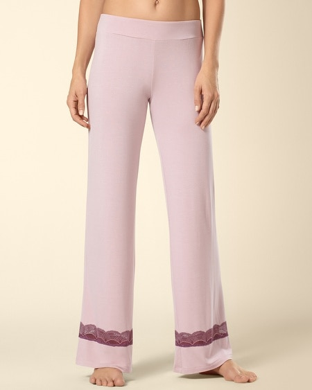 Deco Lace Sleep Pant Rosette