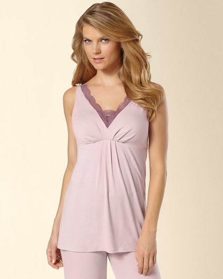 Deco Lace Sleep Tank Rosette
