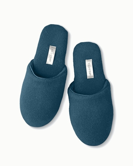 Cashmere Slippers Teal