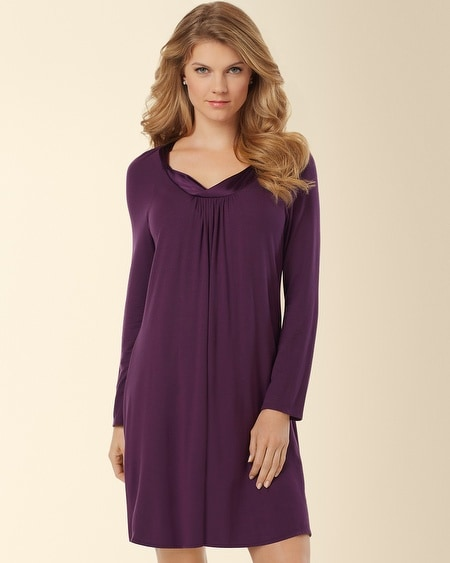 Mad About You Sleepshirt Aubergine