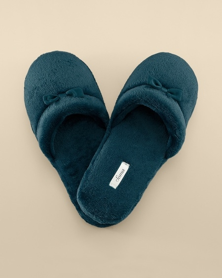 Plush Slipper Deep Teal