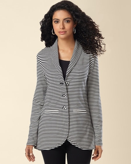 Divine Terry Jacket Shelbourne Stripe