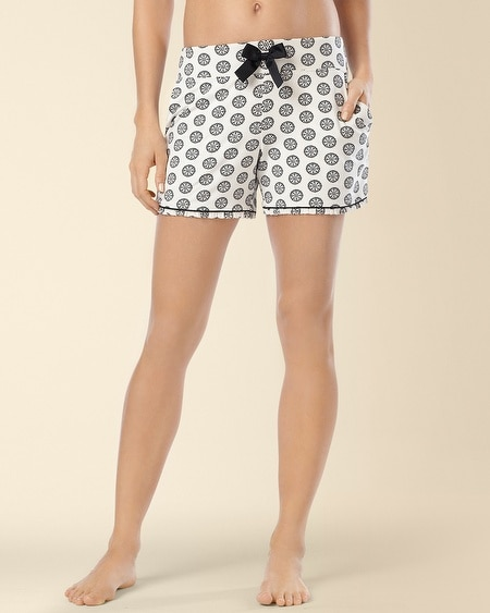 Emrbaceable Pajama Shorts Empire Medallion