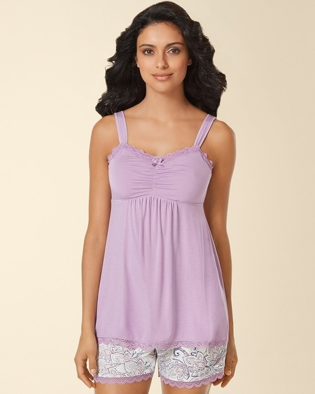 Lace Sleep Cami Faded Orchid