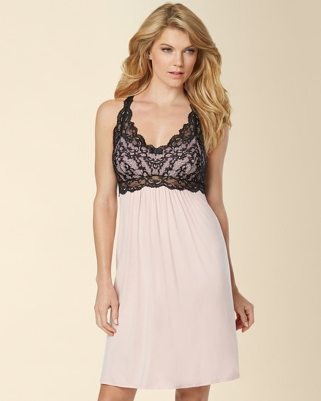 Eternal Lace Sleep Chemise Boudoir Pink