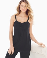 Cool Nights Lace Sleep Cami Black