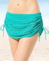 Freya Spirit Adjustable Swim Skirt Bottom Jade