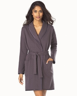 Midnight by Carole Hochman September Nights Quilted Robe Sweet Truffle