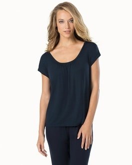 Midnight by Carole Hochman Lounge Easy Tee Midnight