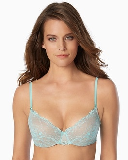 Silent Assembly Smooth Lace Demi Bra