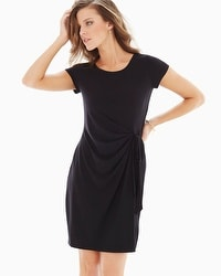 Leota Short Sleeve Madison Dress Black