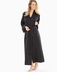 Oscar de la Renta Long Robe Black