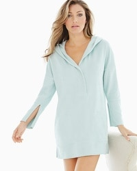 iRelax Baby Terry Hooded Pullover Robe Tranquil Sage