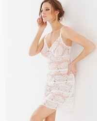 Lace Unlined Sleep Chemise Ivory
