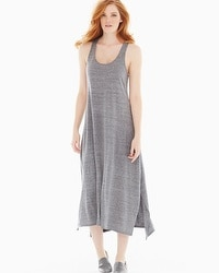 Natori Cosi Sleeveless Maxi Dress Grey