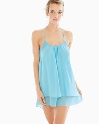 In Bloom by Jonquil Camilla Aqua Sleep Chemise
