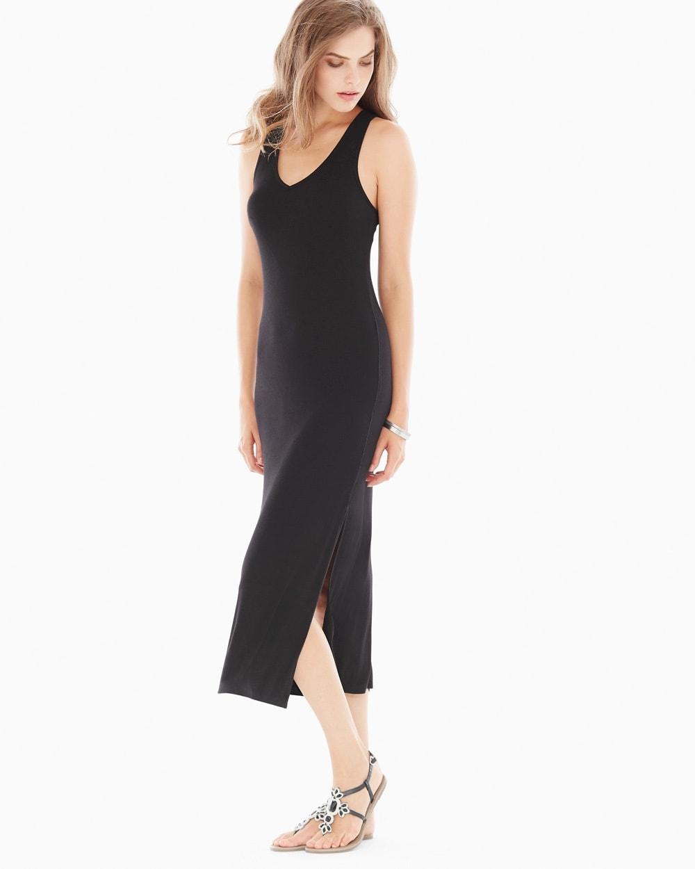 Lounge Maxi Dress Black Soma