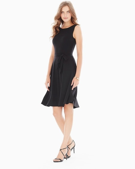 Ilana Sleeveless Reversible Dress Black