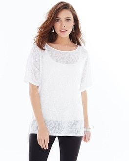 Miraclebody Slimming Paige Top White