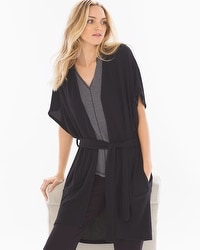 Midnight by Carole Hochman Chunky Knit Wrap
