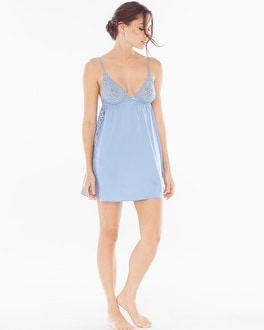 In Bloom Anadia Sleep Chemise Periwinkle