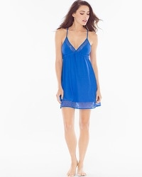 In Bloom Lidia Sleep Chemise Blue Cornflower