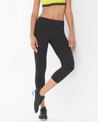 Soma Sport Crop Leggings Black