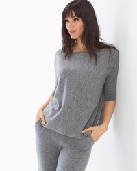 Arlotta Cashmere/Wool Blend Boxy Sweater