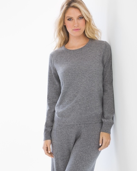 Cashmere/Wool Blend Tipped Sweater