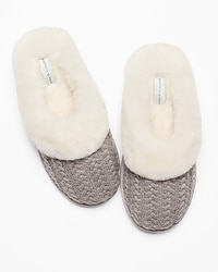 Patricia Green Vail Slippers Grey