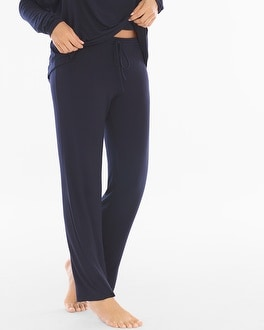 Samantha Chang Home Lounge Pants Deep Blue