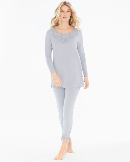 Tunic Pajama Set Cool Gray