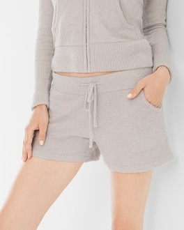 Barefoot Dreams Chic Lite Lounge Shorts Silver