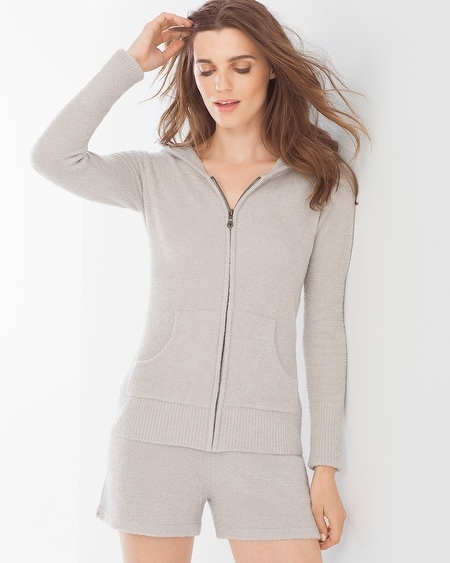 Chic Lite Hoodie Silver