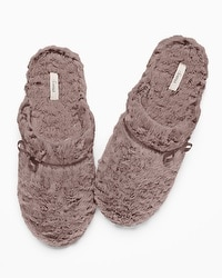 Embraceable Luxe Marble Slippers Mochaccino