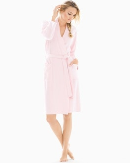 Natori Nirvana Long Robe Blush