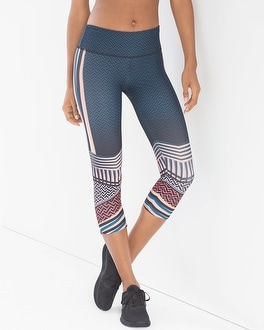Onzie Graphic Capri Sport Leggings Empire